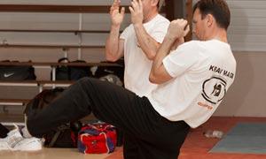 demonstration krav maga self defense quimper finistere
