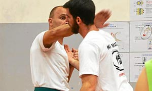krav maga quimper finistere exemple exercice enseignant