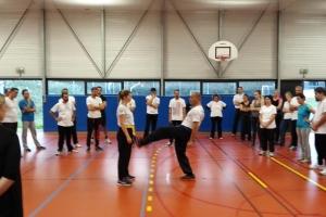 Premier cours pour les débutants au club de Krav Maga de Quimper